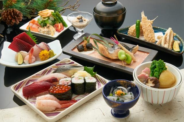 和食料理を美味しく見せる盛り付け